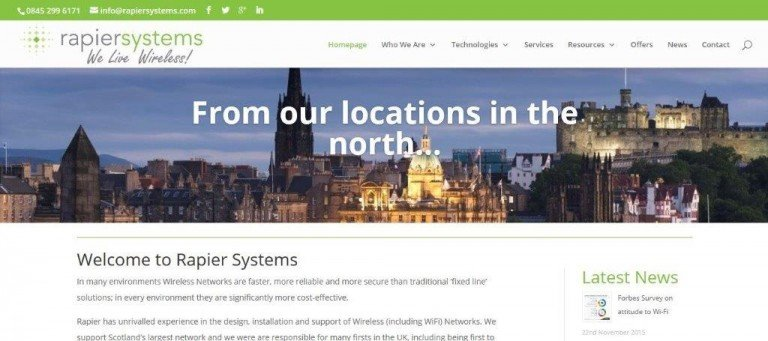 Our new Website goes live